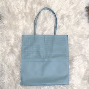 Saks Fifth Avenue Baby Blue Tote